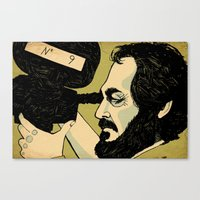 Canvas Print featuring kubrick by Le Butthead