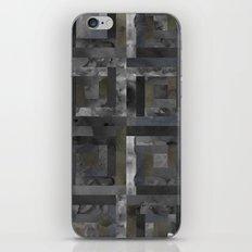 Black Geometric Pattern  iPhone & iPod Skin