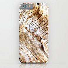 Organic design Tree Wood Grain Driftwood natures pattern Slim Case iPhone 6s