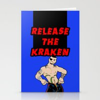 Release The Kraken Stationery Cards