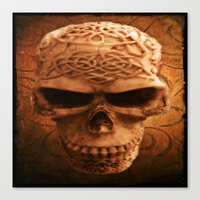 Simply Skull Canvas Print