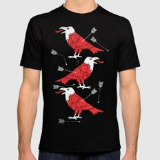 warbird Mens Fitted Tee Black SMALL