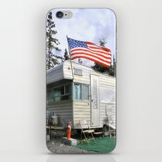 Camper and trailer, Denali Alaska! iPhone & iPod Skin
