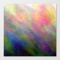 Between The Lines - Trop… Canvas Print