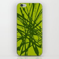 Bloom Green iPhone & iPod Skin