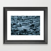 A Little Big Framed Art Print