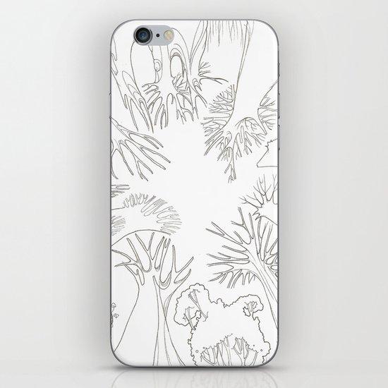 El Bosque iPhone & iPod Skin