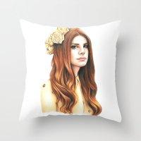 LDR Throw Pillow