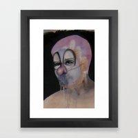 S E L F Framed Art Print