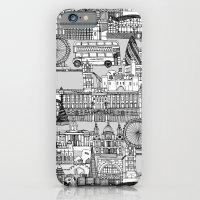 London Toile Black White iPhone 6 Slim Case
