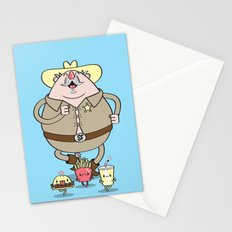 Sherif Fatman and Fast Food Stationery Cards