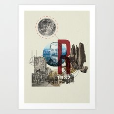The Great Purge  Art Print