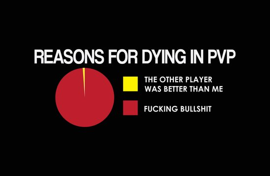 Reasons for Dying in PVP Art Print