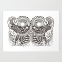 Janus Art Print
