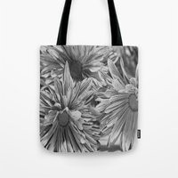 Flowers shadows Tote Bag