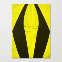 Silk Spectre Canvas Print