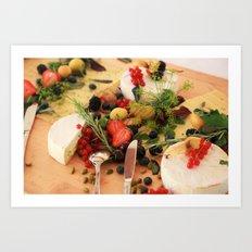 Food Art Print