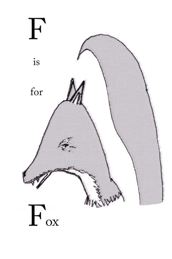 Fox. Art Print