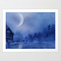 The Lake House Art Print