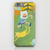 iPhone & iPod Case featuring adventure friends by christopher-james robert warrington