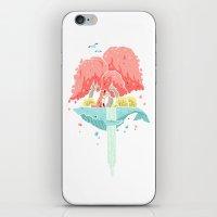 Whale Island iPhone & iPod Skin
