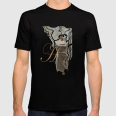 Haute Couture / fashion, dresses, clothing,  Black SMALL Mens Fitted Tee