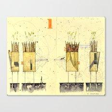 Domicile 01_Harvest Moon Canvas Print