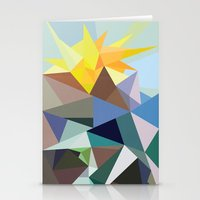 Geo-02 Stationery Cards