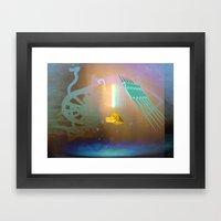 Basmekfi Framed Art Print