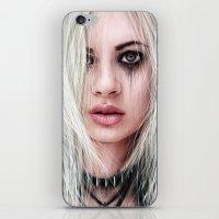 Sword In the Dark: A Gothic Warrior  iPhone & iPod Skin