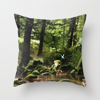 Hey! Throw Pillow