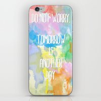DO NOT WORRY iPhone & iPod Skin
