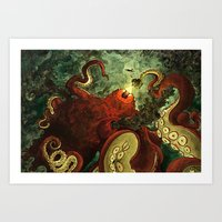 The Indrigan Beast Art Print
