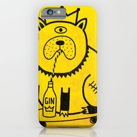 My Dog Loves Gin iPhone 6 Slim Case