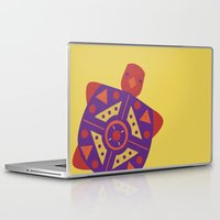 turtle Laptop & iPad Skins featuring Turtle by Claire Lordon