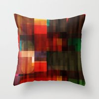 Abstract 11 Throw Pillow
