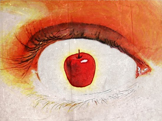 Apple of My Eye 000 Art Print