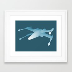 Star Wars X-Wing Framed Art Print