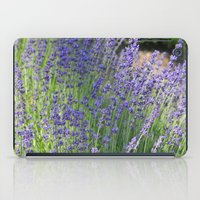Lavender Wave iPad Case