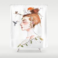 Nested Shower Curtain