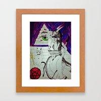 Demon Works Framed Art Print
