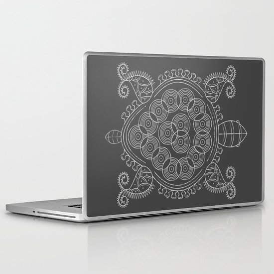 Pattern Tortoise  Laptop & iPad Skin