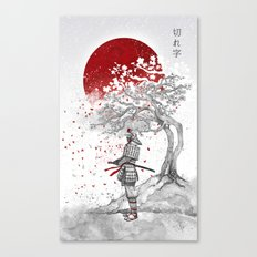 Kireji (cutting word) Canvas Print