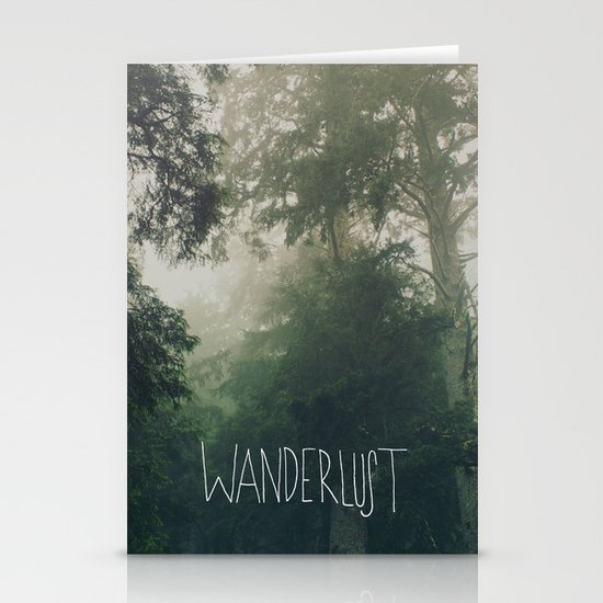 Wanderlust: Oswald West, Oregon Stationery Card