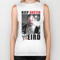 Keep Austin WWEird Biker Tank