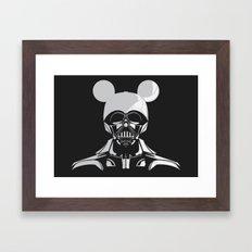 Dark Mouse Framed Art Print