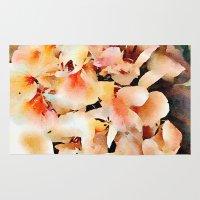 Hydrangea Floral Waterco… Rug