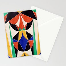 Describe Yourself in 5 Colors Stationery Cards
