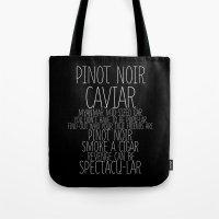 Pinot Noir Tote Bag