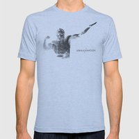 Amalgamation #2 Mens Fitted Tee Athletic Blue SMALL